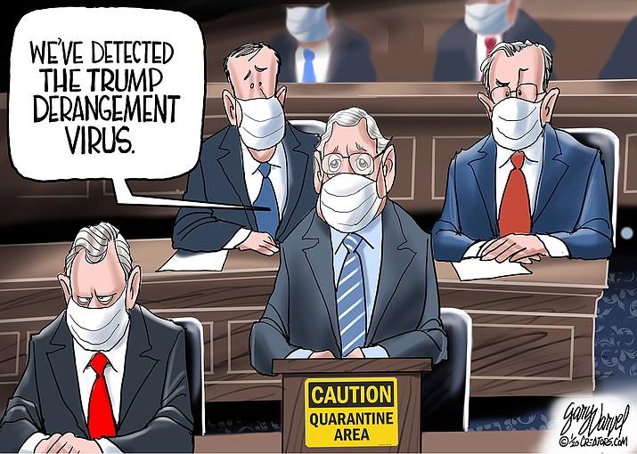Editorial cartoon (1): Jan. 26, 2020
