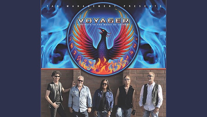 "Come and see ""Voyager - A Tribute to Journey"" at the Elks Theatre Performing Arts Center, 117 E. Gurley St. in Prescott at 7 p.m. on Friday, Jan. 31. (Elks Theatre Performing Arts Center)"
