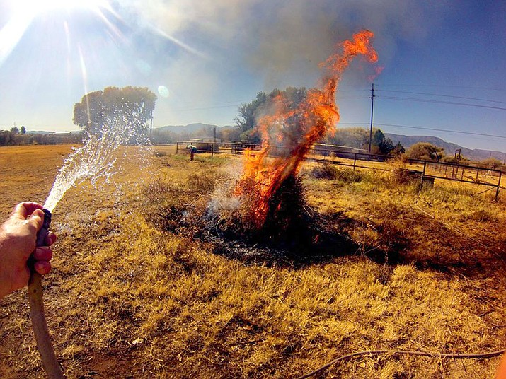 Copper Canyon Fire and Medical District has expanded its first burn season of 2020, Fire Marshal Ken Krebbs announced Tuesday. Burn season will begin on Saturday, Feb. 1, a month earlier than the usual March 1 start. VVN/Vyto Starinskas