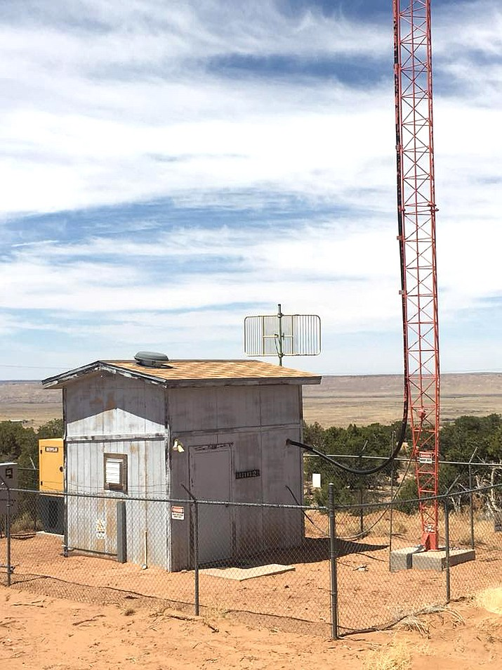 KUYI Hopi Radio is facing possible eviction of its studio along with its tower site at Antelope Mesa (above). (Photo/The Hopi Foundation)