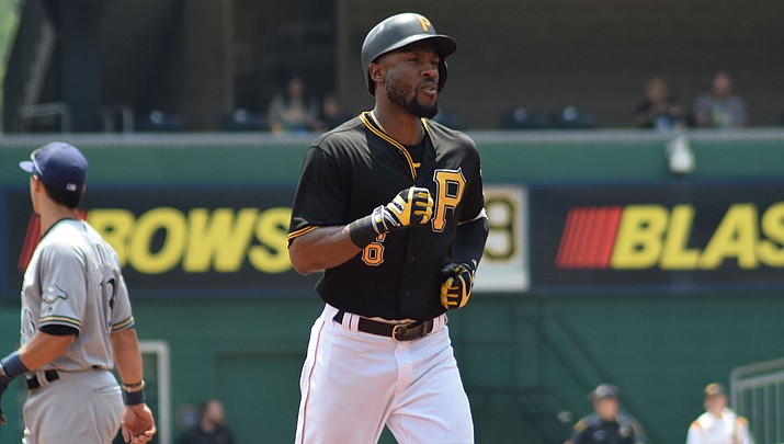 Starling Marte is moving west to Arizona following Monday's trade to the Diamondbacks. (Photo by Ian D'Andrea, CC by 2.0, https://bit.ly/2Sa3i55)
