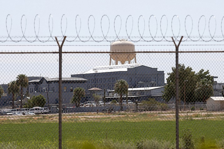 This July 23, 2014, file photo, shows a state prison in Florence, Arizona. An appeals court has upheld a 2018 contempt-of-court ruling against now-retired Arizona Corrections Director Charles Ryan for failing to follow through on promises in a legal settlement to improve health care for prisoners. The 9th Circuit Court of Appeals rejected the state's arguments that the judge who found Ryan in civil contempt didn't have contempt powers available to enforce the 5-year-old settlement. (AP Photo/File)