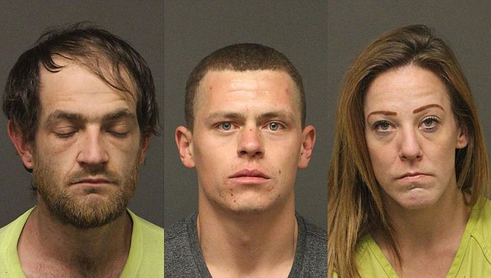 Shelby Leroy Barker, Johnathan Edgar Daves and Michelle Renee Howard (MCSO)