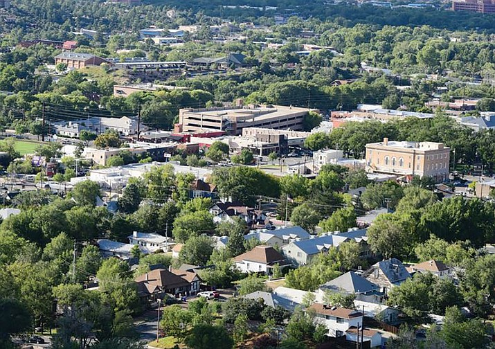 Most of the homes and buildings in the City of Prescott are on sewer, but several thousand are not. A new commission looks to change that. (Courier file)