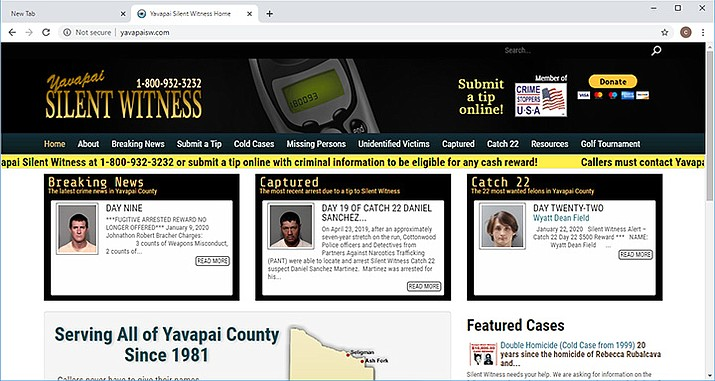 "Donors can now simply go to our website, http://www.yavapaisw.com, and click on the ""donate"" button. (YCSO/Coutesy)"