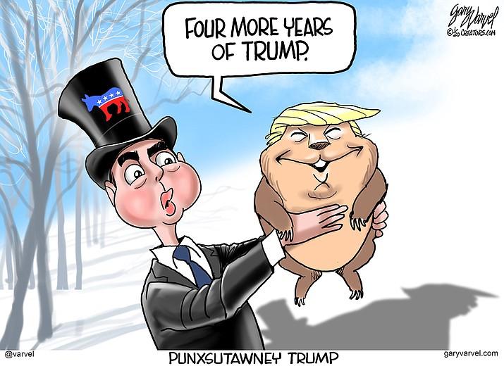 Editorial cartoon (1): Jan. 31, 2020