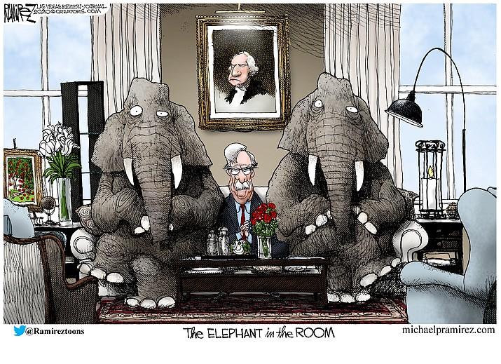 Editorial cartoon (2): Jan. 31, 2020