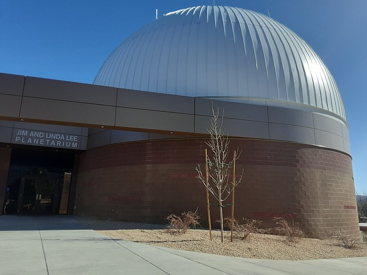 The Jim & Linda Lee Planetarium on the campus of Embry-Riddle Aeronautical University. (Jason Wheeler/Courier)