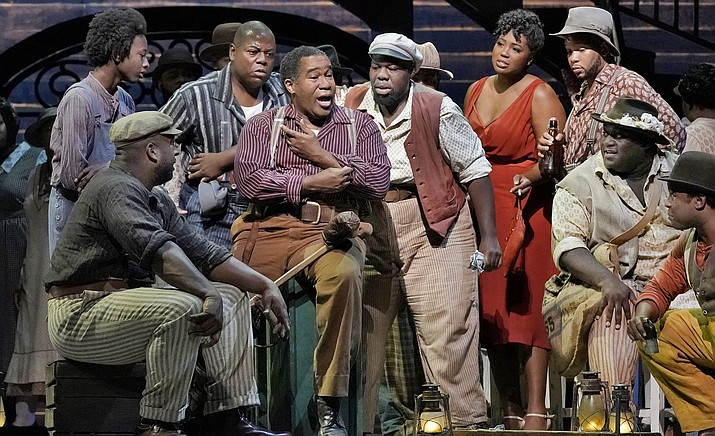 The Gershwins' modern American masterpiece has its first Met performances in almost three decades, starring bass-baritone Eric Owens and soprano Angel Blue in the title roles. Director James Robinson's stylish production transports audiences to Catfish Row, a setting vibrant with the music, dancing, emotion, and heartbreak of its inhabitants.