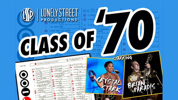 """Come celebrate the """"Class of 70 - Greatest Hits from 50 Years Ago"""" at the Elks Theatre Performing Arts Center, 117 E. Gurley St. in Prescott at 3 p.m. on Sunday, Feb. 2. (Elks Theatre Performing Arts Center)"""