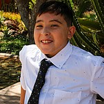 Gabriel's incredible sense of humor and giant smile light up any room! An active boy with lots of friends, there's no shortage of things he loves, from basketball and zombie tag to Legos, Mexican food and the Dodgers. Get to know Gabriel at https://www.childrensheartgallery.org/profile/gabriel-j and other adoptable children at the childrensheartgallery.org.