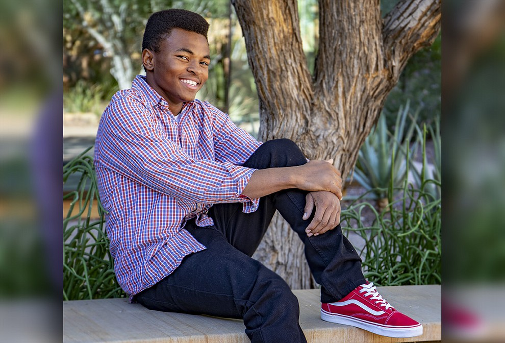 """A committed athlete who excels in wrestling, football and track, Jaquan's love of sports is matched only by his love of music. If he had a theme song, it would be """"I'm Still Standing"""" by Taron Egerton! He loves Mexican food, history and math, and dreams of visiting the birthplace of his idol, Muhammad Ali. Jaquan plans to join the army, then pursue a career in sports, and eventually open a group home. Get to know Jaquan at https://www.childrensheartgallery.org/profile/jaquan-0 and other adoptable children at the childrensheartgallery.org."""