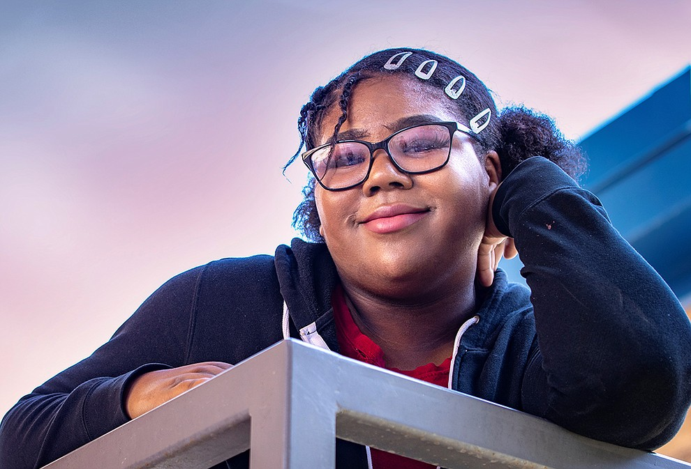 A gifted musician who plays piano by ear and has a beautiful singing voice, Kalaya is also a committed student -- especially in STEM subjects. She serves on the student council and plans to become a lawyer or veterinarian one day. She is not a fan of tomatoes or seafood, but loves hot dogs and Wendy's salads. Get to know Kalaya at https://www.childrensheartgallery.org/profile/kalaya-0 and other adoptable children at the childrensheartgallery.org. .
