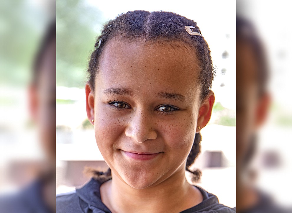 A fun and spunky girl, Trinitee is an awesome athlete who loves softball, basketball, riding bikes and skateboarding. She has lots of friends, enjoys her math and reading classes at school, and will eat ramen noodles and hot wings any day of the week. She dreams of playing in the WNBA one day. Get to know Trinitee at https://www.childrensheartgallery.org/profile/trinitee and other adoptable children at the childrensheartgallery.org. .
