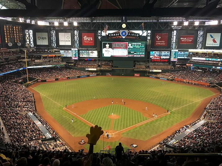 Mingus Union baseball could get to play at Chase Field, home of the Arizona Diamondbacks. VVN/Bill Helm
