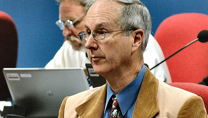 A bill proposed by State Rep. Bob Thorpe (R-Flagstaff) is aimed at prohibiting out-of-staters from influencing Arizona politics and policies. (File photo by Howard Fischer/For the Miner)