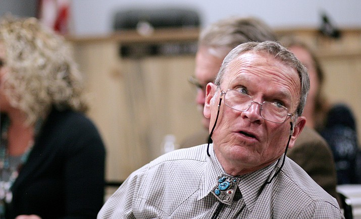 Camp Verde Town Manager Russ Martin said Monday that Town Council will not levy sanctions against Council Member Joe Butner during Wednesday's meeting. VVN/Bill Helm
