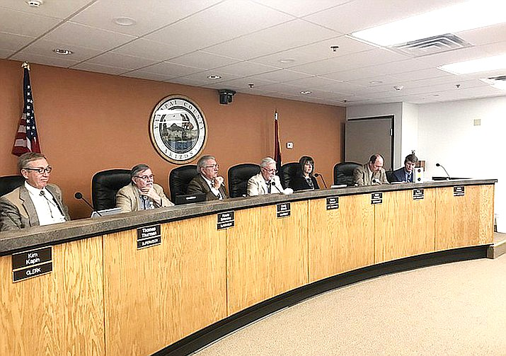 The Yavapai County Board of Supervisors will meet on Feb. 5 and is expected to vote on a resolution that would declare Yavapai County a Second Amendment Sanctuary County. (Prescott Daily Courier, file)