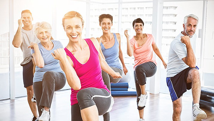 """A """"50+ Aerobics"""" class is being held at the Boys and Girls Club, 8201 E. Loos Dr. in Prescott Valley from 9 to 10 a.m. on Friday, Feb. 7. (Stock image)"""