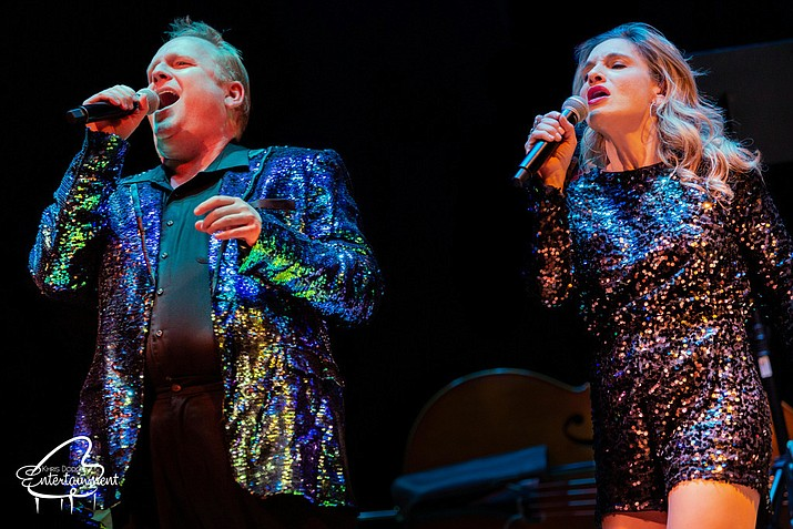 Khris Dodge Entertainment's Symphonic Rock will be at the Elks Theatre and Performing Arts Center at 7 p.m. Saturday, Feb. 8. (Courtney Dodge/Courtesy)