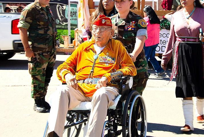Navajo Code Talker Joe Vandever Sr. passed Jan. 31 at the age of 96. (Photo/Office of the Navajo Nation Speaker)