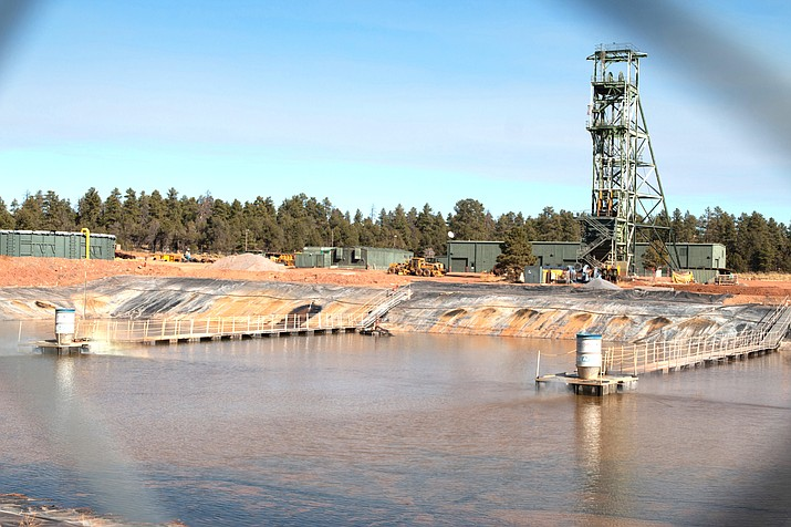 Low uranium prices make it difficult to justify operating the Canyon Mine, which opened in 1986 but has produced no ore. (Jake Eldridge/Cronkite News)