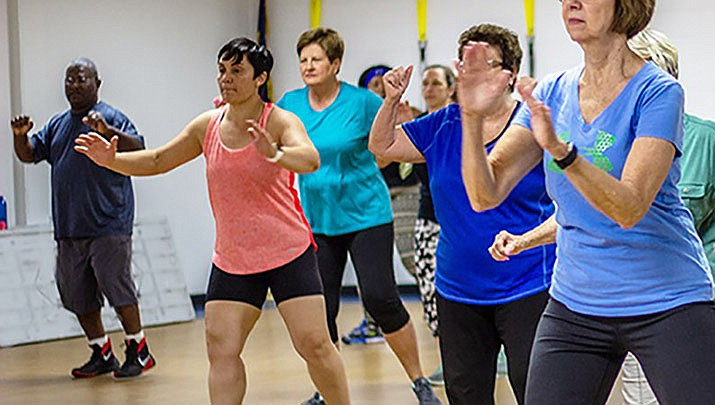 "Get your day started with ""Cardio Warm-up & Exercise"" at the Kathryn Heidenreich Adult Center, 1776 Airway Ave. in Kingman from 8:30 to 10 a.m. every Monday, Wednesday and Friday. (Kathryn Heidenreich Adult Center)"