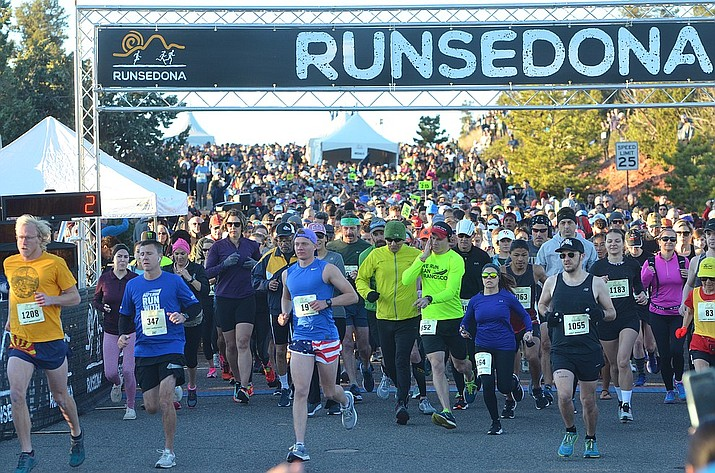 More than 3,000 participated in the 15th AnnualRunSedona on Saturday. Runners came from 48 states and 10 countries. VVN/Vyto Starinskas