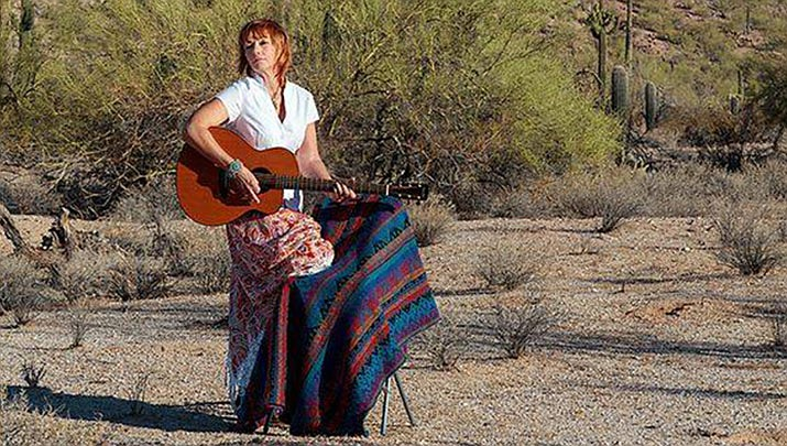 """Come listen to local talent, Nancy Elliott and enjoy a free cup of coffee at a """"Coffeehouse Concert"""" at the Prescott Public Library, 215 E. Goodwin St. from 2 to 3:30 p.m. on Sunday, Feb. 9. (Prescott Public Library, Facebook)"""
