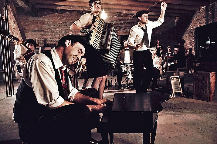 The Hot Sardines are currently on tour with a repertoire that focuses on the love affair of jazz that happened between France and the United States, according to bandleader Evan Palazzo. (Courtesy)