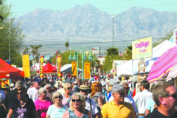 The 35th Annual Winterfest Street Festival is taking place at the Lake Havasu Main Street District on McCulloch Blvd N. in Lake Havasu City from 9 a.m. to 5 p.m. on Saturday, Feb. 8 and from 9 a.m. to 4 p.m. on Sunday, Feb. 9. (Courtesy file photo, Today's News-Herald)