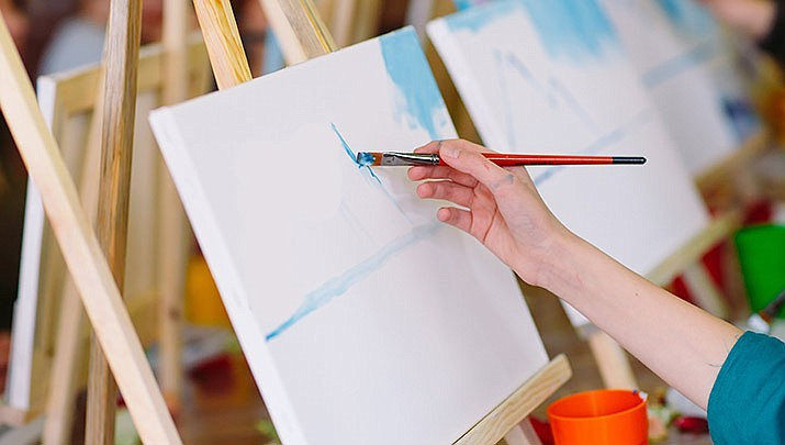 Come paint with us on Saturday, Feb. 9 from 3 to 5 p.m. at the American Legion Post, 3435 N. Verde Rd. in Golden Valley. (Stock image)
