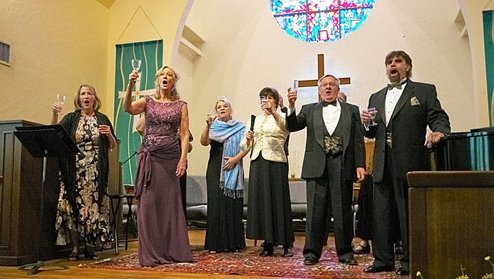 "The Granite Mountain Bel Canto Singers present ""The Music of Romance,"" a concert to benefit the Prescott Community Cupboard Food Bank on Sunday, Feb. 9 from 3 to 4 p.m. at the First Congregational Church, 216 E. Gurley St. in Prescott. (Granite Mountain Bel Canto Singers)"