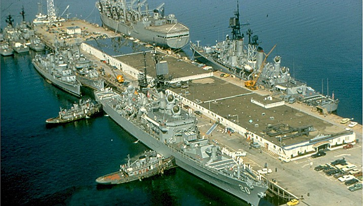 A controversy involving religious freedom has erupted at U.S. Naval Station Newport in Rhode Island, show above. (Public domain)
