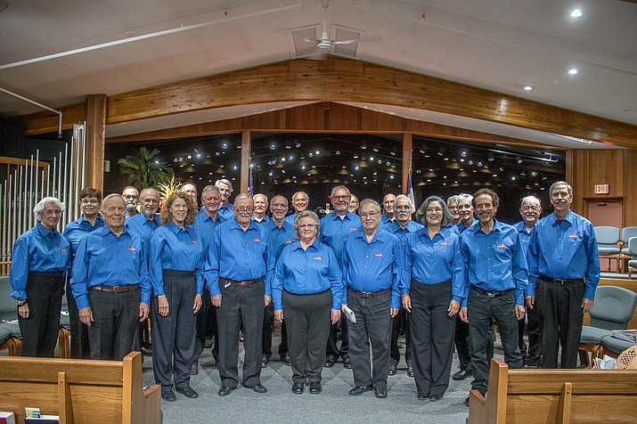 Harmony on the Rocks, Sedona's chapter of the Barbershop Harmony Society, brings singing valentines to Sedona and the Verde Valley again this year.