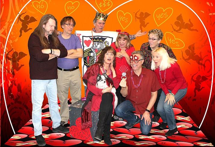 The super minds of Zenprov Comedy are Derek Dujardin, Shaeri Richards, Shaunn Cochran, Tom Shoemaker, Chris Redish, Betty Testa, Linda Roemer and Mary Carder.