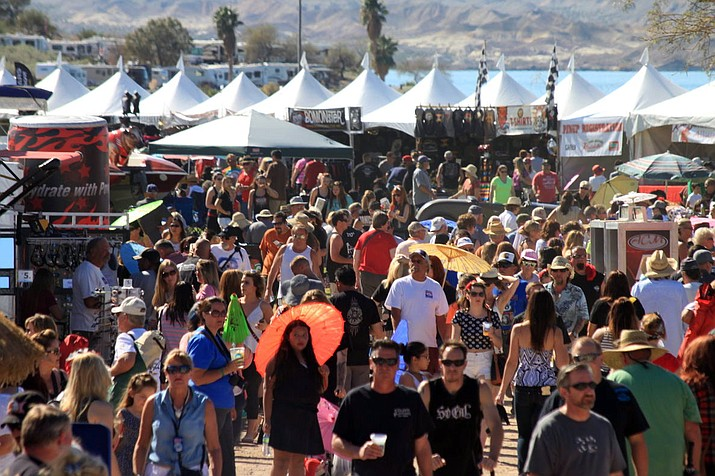 """The Lake Havasu City Rockailly Reunion"" is being held on the banks of Lake Havasu, Friday through Sunday, Feb. 14, 15, and 16. (Courtesy, Today's News-Herald, file)"