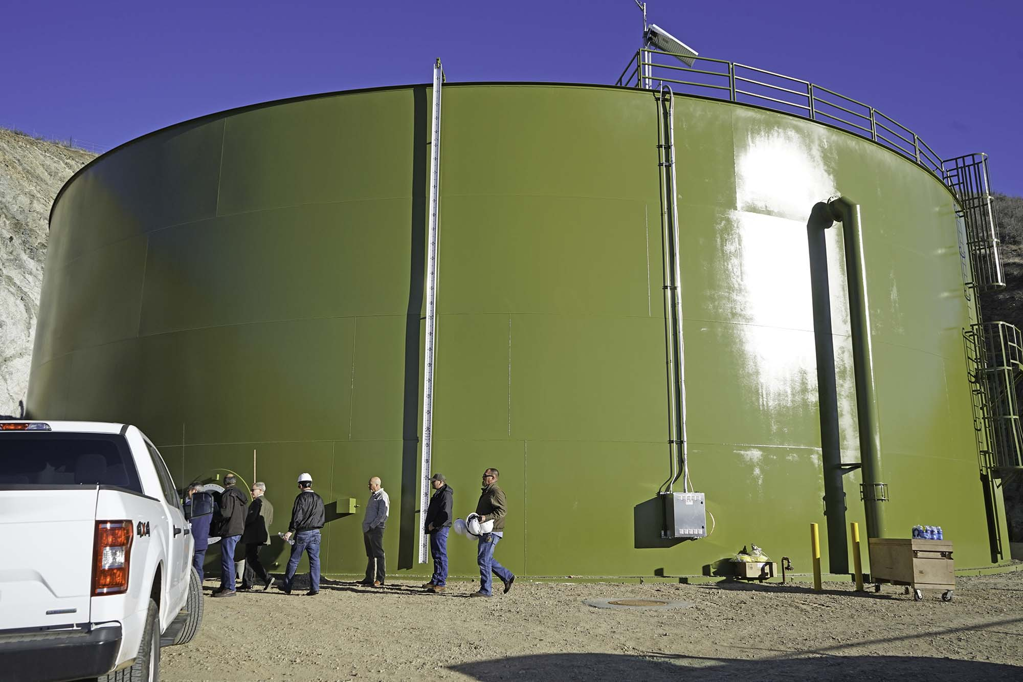 New Prescott Valley water tank to hold 2 million gallons