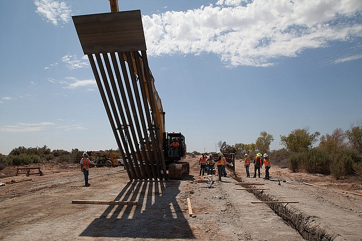 "Tohono O'odham Nation Chairman Ned Norris said Monday the ""controlled blasting"" for a border wall that will ultimately cut through his reservation is just the latest example of the federal government ignoring its duty to consult with tribes. Cronkite News file photo"