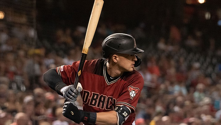 The D-backs announced Monday that they've agreed to a $32.5 million, four-year deal with Nick Ahmed that runs through the 2023 season. (File photo courtesy of Ryan McCarble/Arizona Diamondbacks)