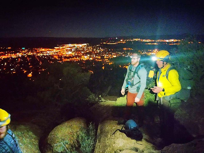 A lost hiker and his dog were located on Mount Elden after they became lost Feb. 6. (Photo/CCSO)