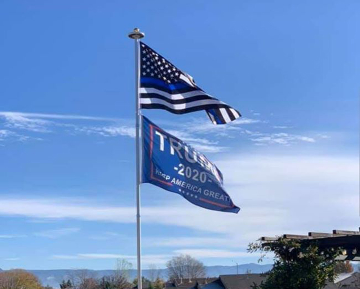 Most Trump flags, other politicians' flags, could be flown under amended town ordinance