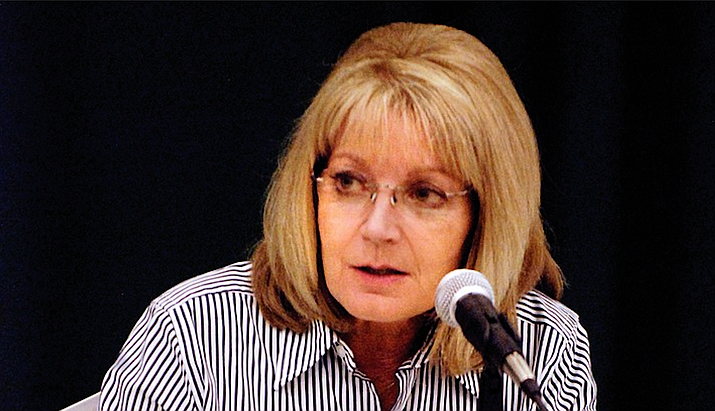 Senate President Karen Fann, R-Prescott, has said she looks favorably on a meausre that would approve per-day rates of compensation for lawmakers traveling to the legislature from outside Maricopa County. Capitol Media Services file photo