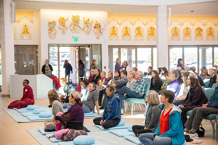 The International Kadampa Retreat Grand Canyon and Kadampa World Peace Temple is located 9.5 miles east of Williams. (Photo/International Kadampa Retreat Grand Canyon)