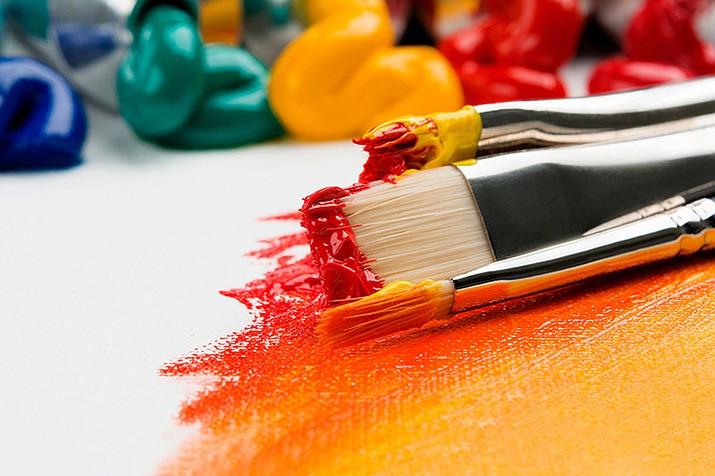 "Registration is required for Prescott Valley Public Library's Be Creative Adult Art Class, ""Painting Trees and Flowers with Acrylics,"" during two sessions, including noon to 3 p.m. Friday, Feb. 14 and 28. (Unsplash.com)"