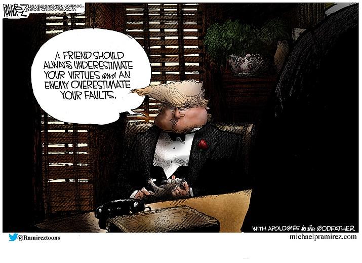 Editorial cartoon (2): Feb. 12, 2020