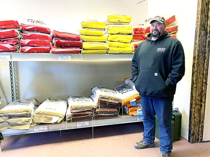 Juniper Creek Outdoors has expanded to include a feed store. (Loretta McKenney/WGCN)
