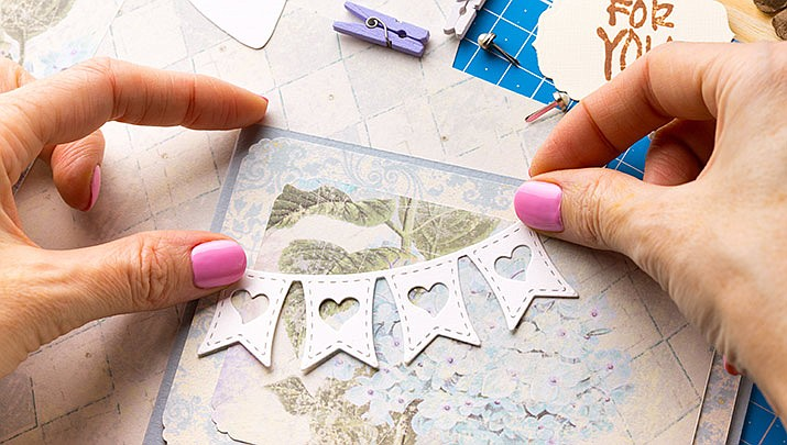 "Come and get creative at a ""Card Making Workshop"" at the Prescott Valley Civic Center, 7501 E. Skoog Blvd. from 5:30 to 7 p.m. on Friday, Feb. 14. (Stock image)"