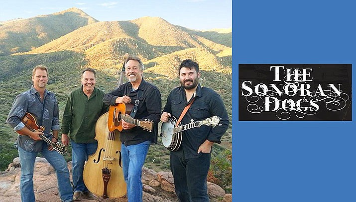 Come and see The Sonoran Dogs bluegrass concert at the Phillip England Center for Performing Arts, 210 Camp Lincoln Rd. in Camp Verde from 7 to 9 p.m. on Saturday, Feb. 15. (Phillip England Center for Performing Arts)