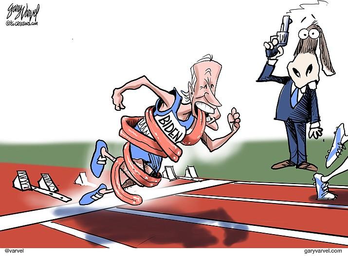 Editorial cartoon (1): Feb. 13, 2020